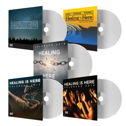 Healing Is Here - DVD Package