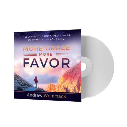 CD Album - More Grace, More Favor