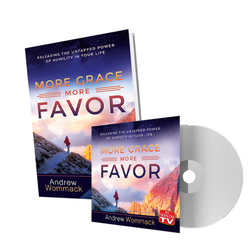 More Grace, More Favor - DVD Package
