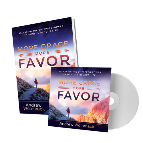 More Grace, More Favor - CD Package