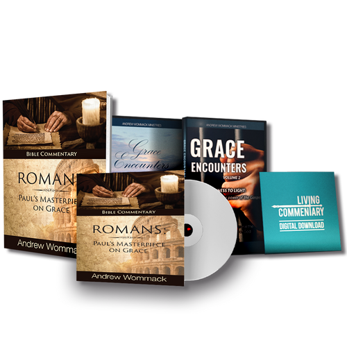 Romans: Pauls Masterpiece on Grace - CD Package