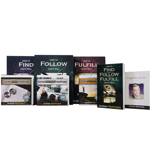 How to Find, Follow & Fulfill God's Will - CD Package