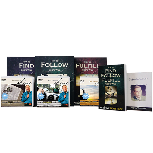 How to Find, Follow & Fulfill God's Will - Live DVD Package