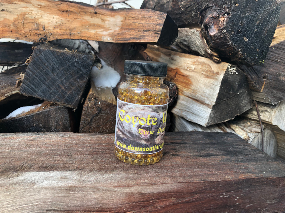 Two great companies have joined forces on this amazing product line. This all natural coyote urine is the next attractant and last attractant you'll ever have to search for. 100% canine approved