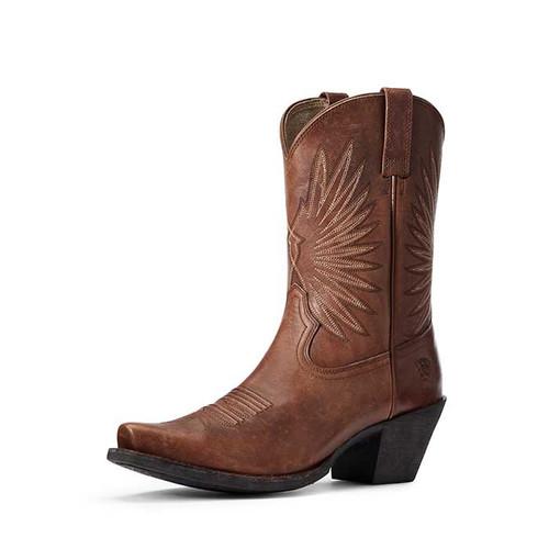 Ariat Goldie Ladies Boot Distressed Cognac