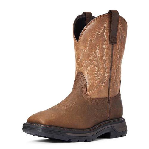 Ariat Big Rig Mens Boot Rye Brown/Wicker