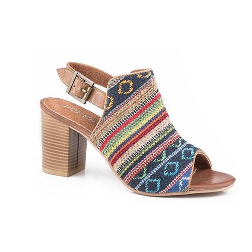 Roper Mika Ladies Aztec Tapestry Tan