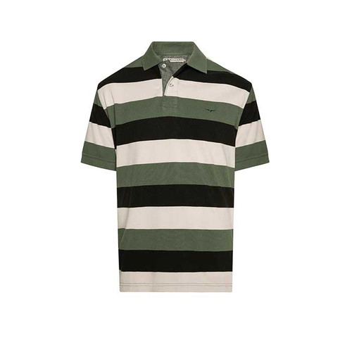 Rod Polo in Sand/Black/Green