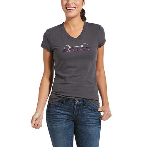 Ariat WOMENS BIT L SS T-Shirt in PERISCOPE