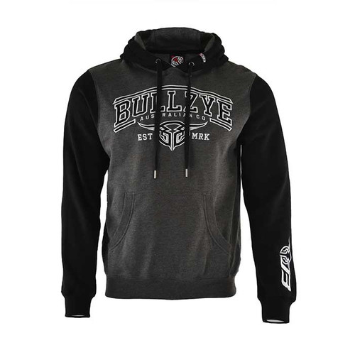 MENS DETOUR PULLOVER HOODIE IN CHARCOAL MARLE