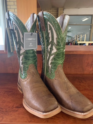 Ariat Cowhand VenTek Mens Boot Tabacco Toffee