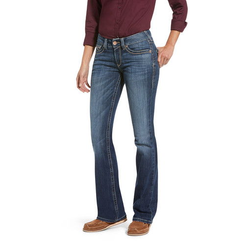 ARIAT WMS REAL PERFECT RISE BOOT CUT CAMILLA