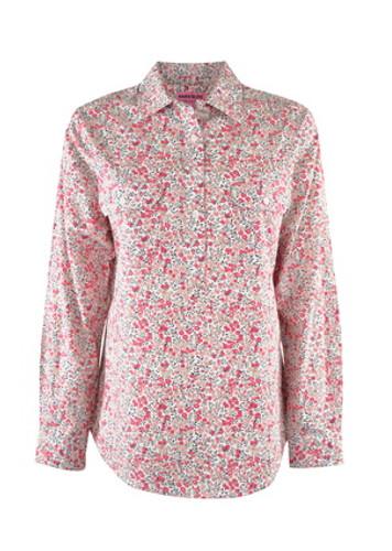 Thomas Cook Hard Slog Ladies L/Sleeve Shirt White