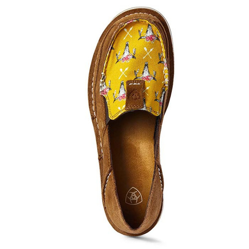 Ariat Cruiser Ladies Chestnut Suede/Mustard steerhead