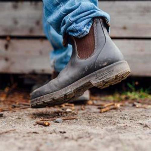 Blundstone 600 Work Boots Brown