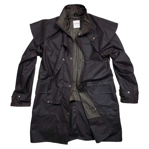 Driza-Bone Ranger Short Coat Brown