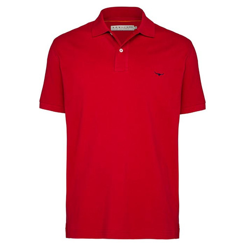 R.M.Williams Mens  Rod Polo Red