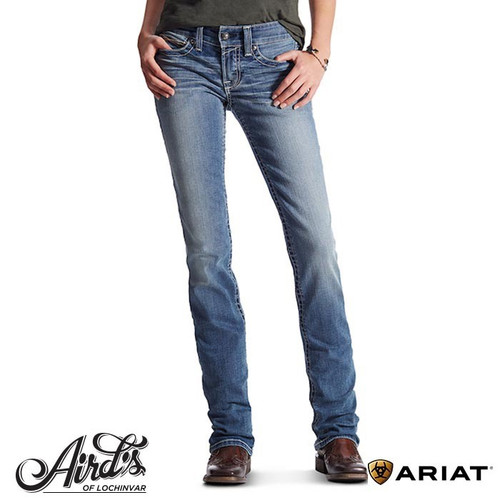 Ariat Rainstorm Ladies Straight Leg Denim Jeans