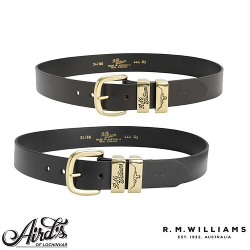 "R.M.W 1 1/2"" 3 Piece Solid Hide Belt"