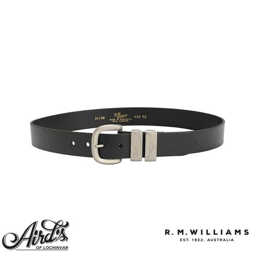 "R.M.Williams 1 1/2"" 3 Piece Solid Hide Belt"