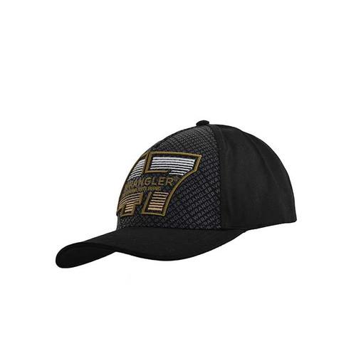 MENS FORTY-SEVEN CAP IN BLACK