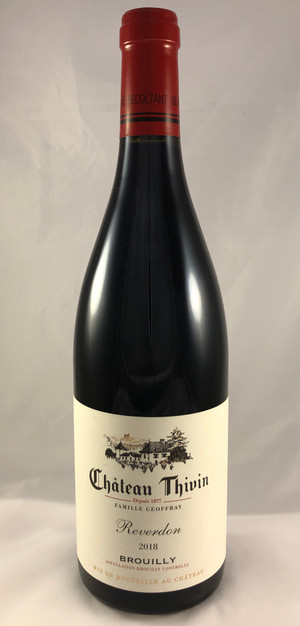 """CHATEAU THIVIN """"REVERDON"""" BROUILLY 2018"""