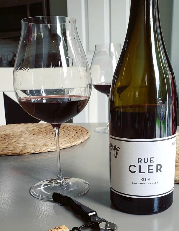 RUE CLER WINE GSM 2017 COLUMBIA VALLEY