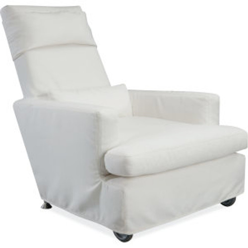 Cabo Lounger Outdoor Slipcovered Chair