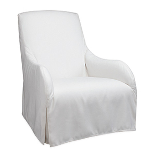 Sunset Lounger Outdoor Slipcovered Chair