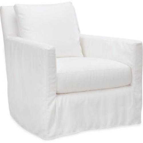 Nandina Outdoor Slipcovered Swivel Chair