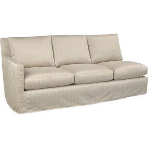 Nandina Outdoor Slipcovered One Arm Sofa