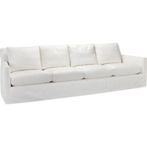 Nandina Outdoor Slipcovered Four Cushion Sofa