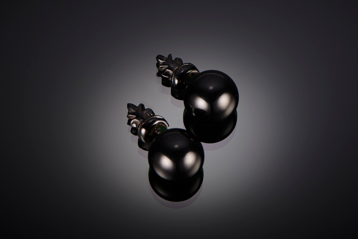 Whitby Jet Earrings