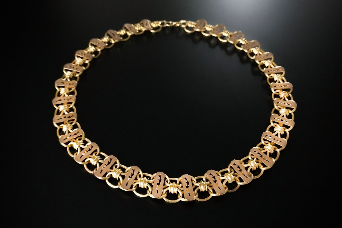 A Fabulous Gold Collar