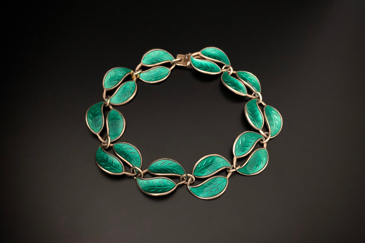 A Beautiful Leaf Bracelet by David Anderson