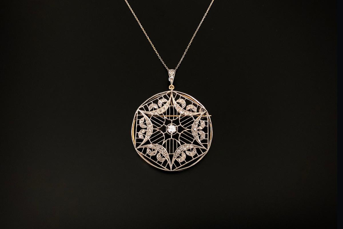 A Divine Diamond Pendant