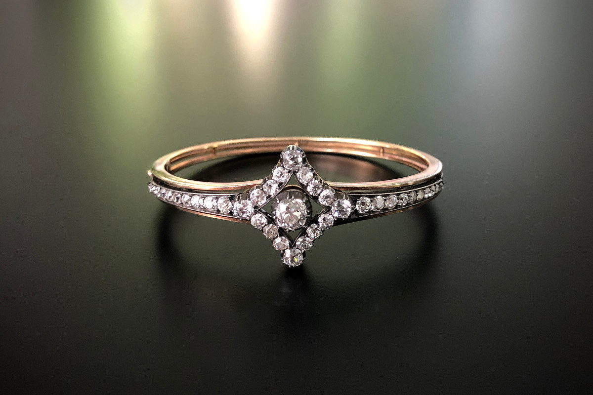 A Fabulous Diamond Bangle