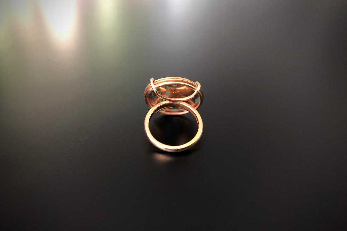 A Divine Plique-À-Jour Ring