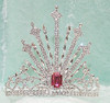 """Gorgeous 6"""" crown with adjustable band.    JD-7003  (a42)"""