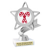 Glitter Candy Cane trophy.  Great trophy for all of your holiday events and pageants. 5043s