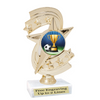 """Soccer trophy.  6"""" Soccer trophy with choice of artwork."""
