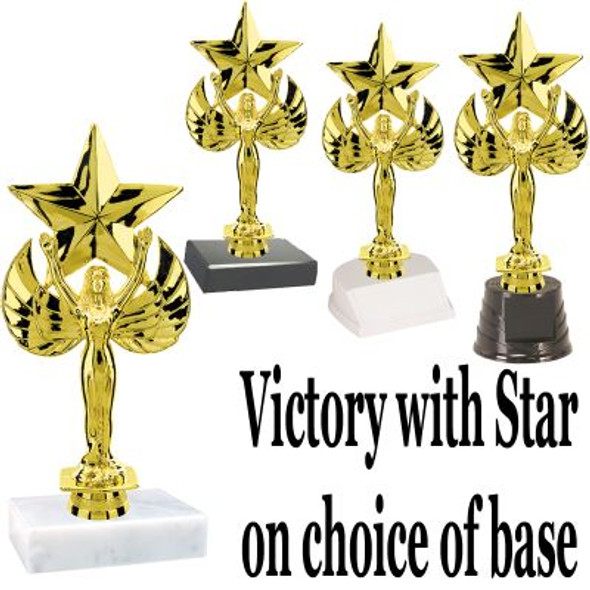 """7"""" Victory with star Trophy"""