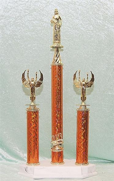A MEGA Trophy!  4 columns!
