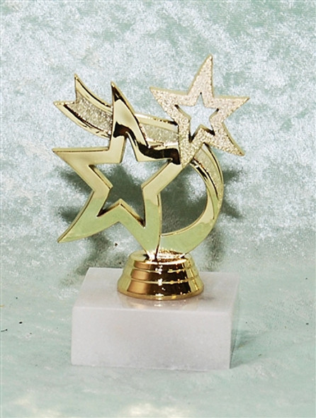 """3"""" Dancing Star trophy.  Great for side awards or participation"""