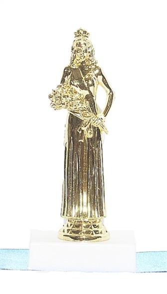 Beauty Queen Pedestal Trophy