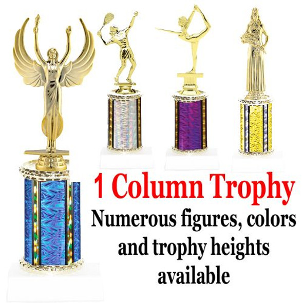 1 Column - Multiple Sizes, Colors and Figures available.