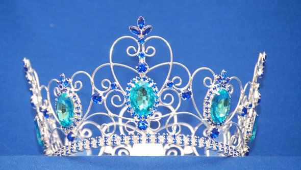 """3.75"""" Round crown with 6"""" diameter.  Great for girls or boys!"""