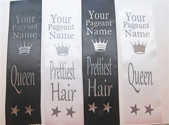 Printed Award Ribbon.  Customizable with your event name
