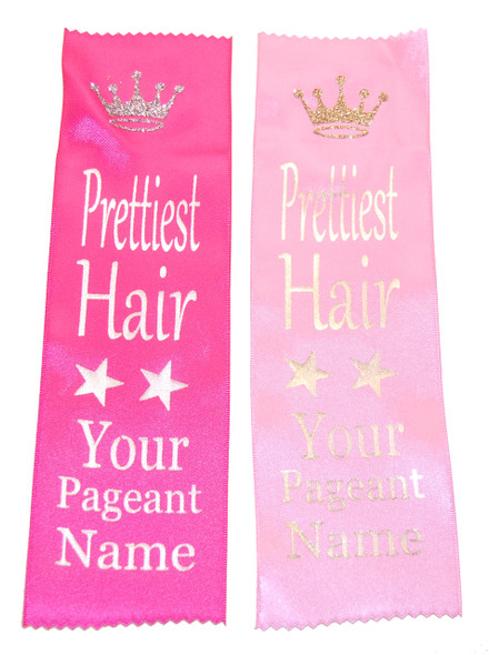 Printed Award Ribbon with Glitter Clip Art - Available in multiple colors and titles. Customize with your event name!
