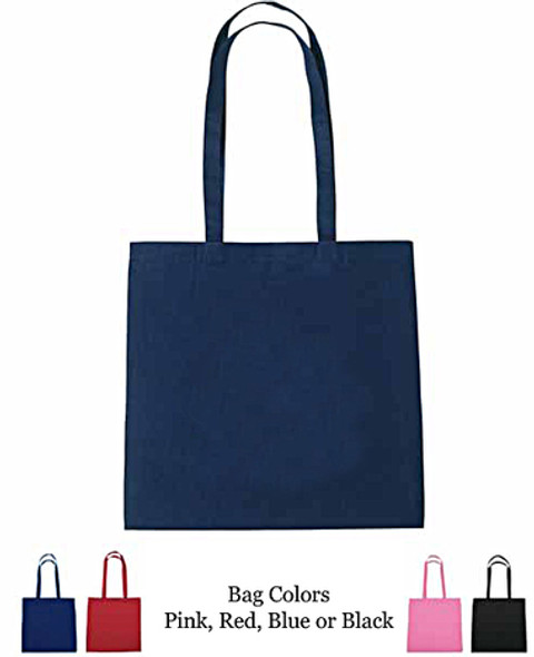 Bling Queen Rhinestone Tote Bag .   Choice of bag color.  Great gift item!